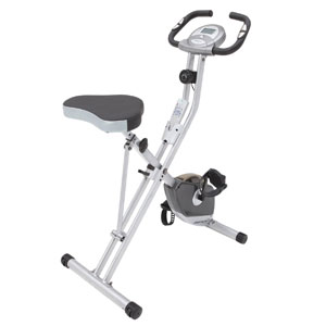 Exerpeutic Folding Magnetic Upright Bike 1200