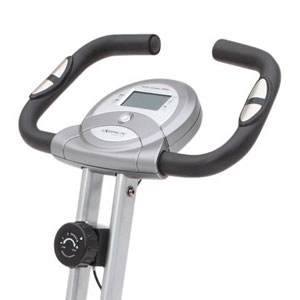 exerpeutic folding 1200 handlebar plus console