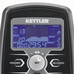 kettler advantage console display