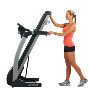 lifespan tr 1200i treadmill folded