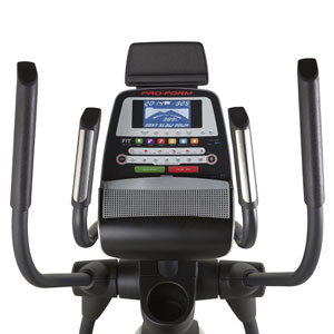 proform 520 e console with tablet holder
