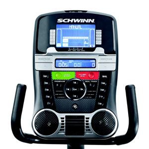 schwinn 270 console with speakers and fan