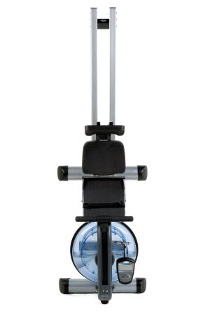 rx-950 water rower in vertical position