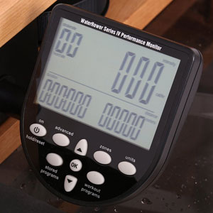 waterrower s4 console