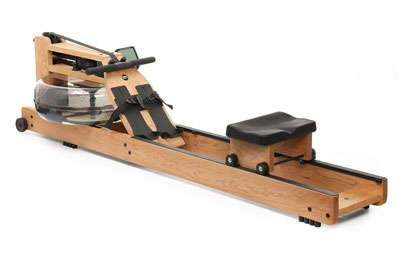 oxbridge water resistance rower with cherry wood frame
