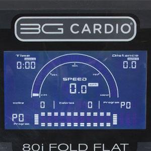 80i 3g cardio - console display