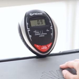 fitdesk v2.0 fitness meter