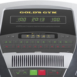 gold's gym 720 console