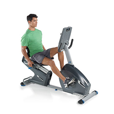 r616 recumbent bike - nautilus
