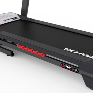 Schwinn treadmill 870 - deck and cushioning system