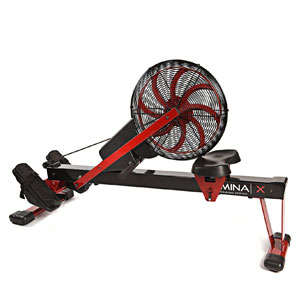 stamina x rower - with frame folded