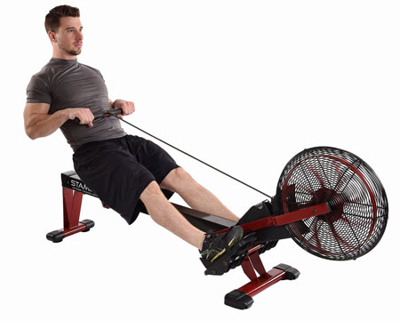 stamina x - folding air rower