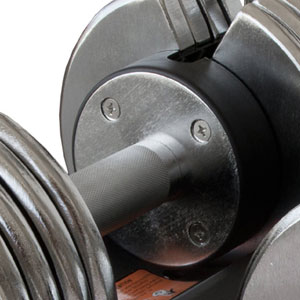 bayou BF-0250 dumbbells - handle