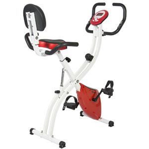Best Choice Products Folding Adjustable Magnetic Upright Bike