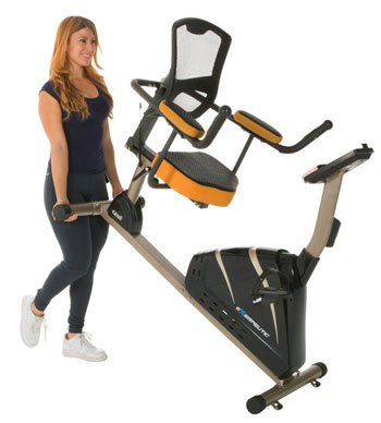 exerpeutic recumbent mag bike 4000