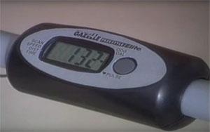 fitness meter - gazelle supreme