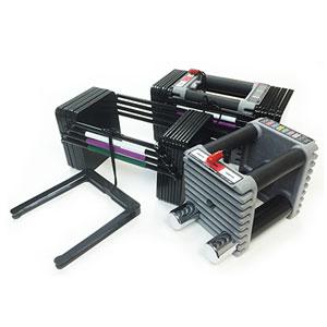 powerblock elite dumbbells - adjustment system