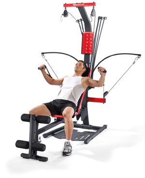 bowflex pr1000 - bench 45 degrees