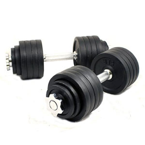 Unipack MTN Gearsmith Adjustable Dumbbell Set 200 lbs