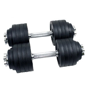 mtn gearsmith - 200 lbs dumbbell set
