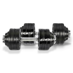 Yes4All Adjustable Dumbbells 105 lbs