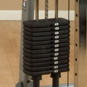 GDCC200 - functional trainer 160 lbs stack