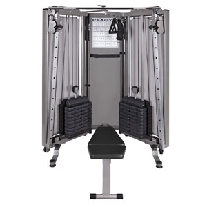HCI Fitness PTX Gym All-In-One Functional Trainer