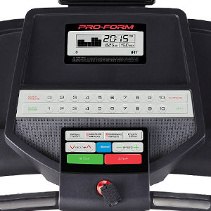 proform 300i - Bluetooth enabled console