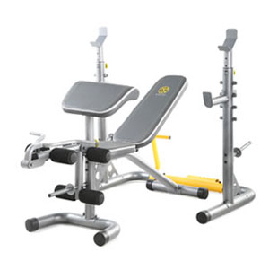 Weight Set Bench Press Squat Barbell Lifting Gold/'s Gym Olympic Workout Gym Rack
