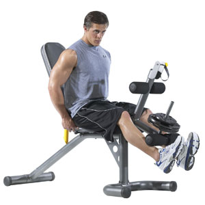 gold's gym xrs 20 - leg workout station