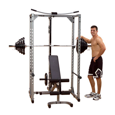 PowerLine PPR200X Power Rack - with all attachments