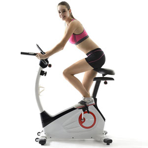 fitleader upright bike uf1 - side view