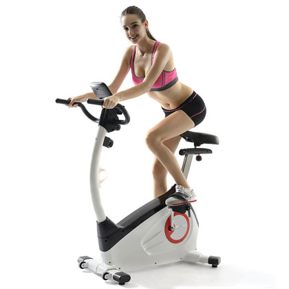 fitleader upright exercise bike uf1