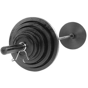 body solid osb300s barbell set
