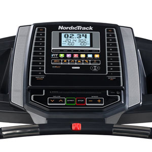 nordictrack t6.5 s treadmill - console close-up