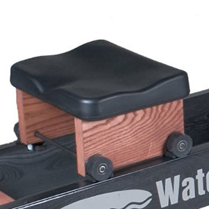 waterrower club - padded and contoured seat