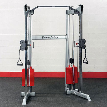 Body-Solid GDCC210 with Premium Weight Stacks