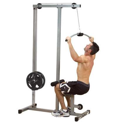 body-solid powerline plm180x - lat pull-down machine