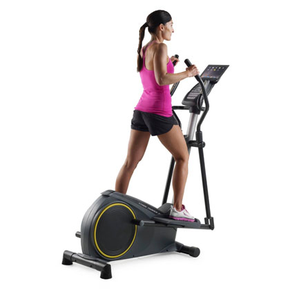 gold's gym 350i elliptical machine