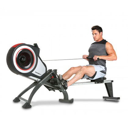 marcy ns-6050re - rowing machine with air and magnetic resistance