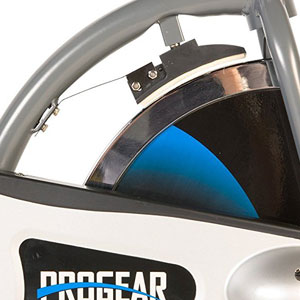 progear exercise bike 100s - friction resistance