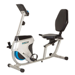 progear 555LXT - magnetic recumbent exercise bike