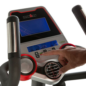 ironman triathlon x-class 610 - bluetooth compatible console