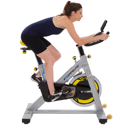 Exerpeutic LX905 - indoor cycle trainer with fitness meter