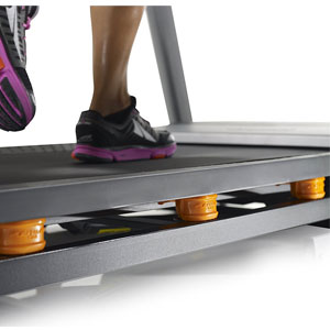 nordictrack c 990 treadmill - FlexSelect deck cushioning