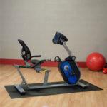 body solid b4r - recumbent exercise bike