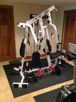 body solid exm2500s - home gym