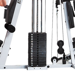 body solid exm2500s - strengthtech - weight stack