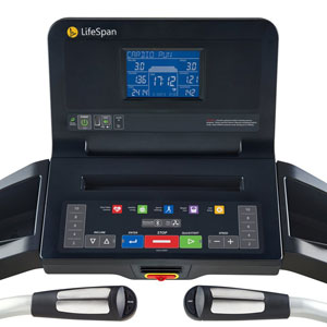 lifespan tr3000i treadmill - console