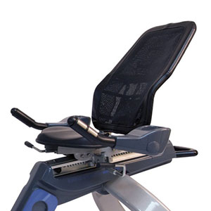 body-solid endurance b5r - adjustable seat with reclining mesh backrest
